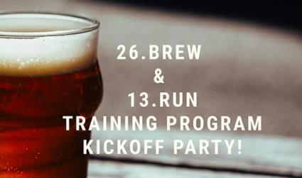 Run, don't walk to the 2016 26.BREW & 13.RUN Training Program