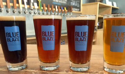 Blue Blaze Brewing is a community tree house where kids and dogs are welcomed