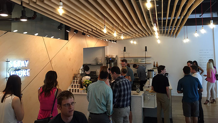 crowd-at-not-just-coffee-packard-place