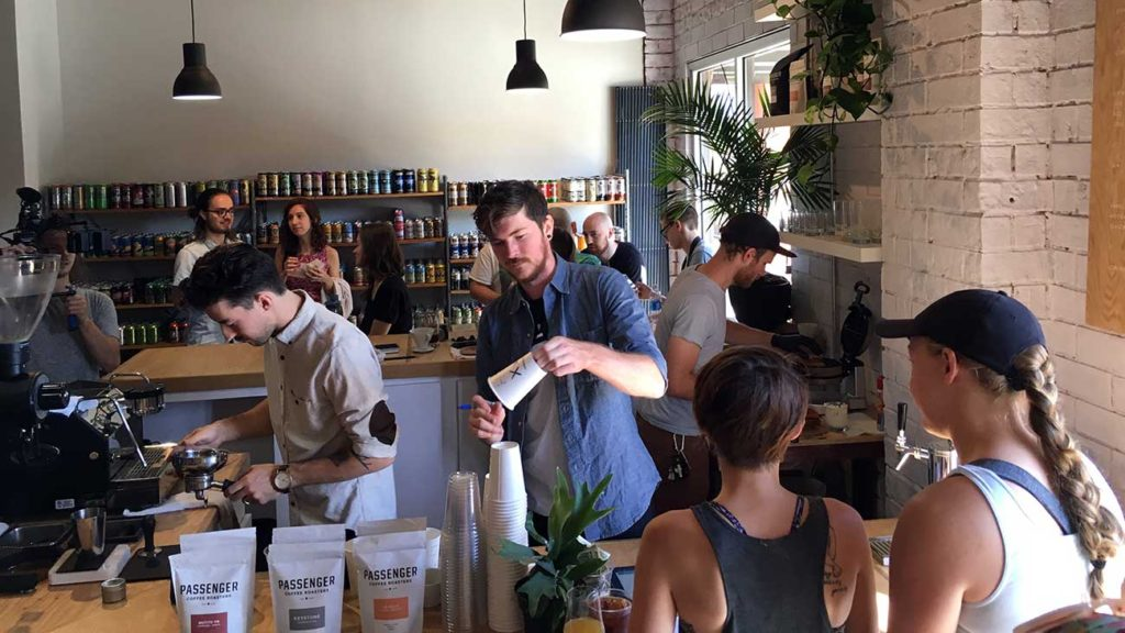 Huge turnout for HEX Espresso Bar grand opening. View menu and hours of operation