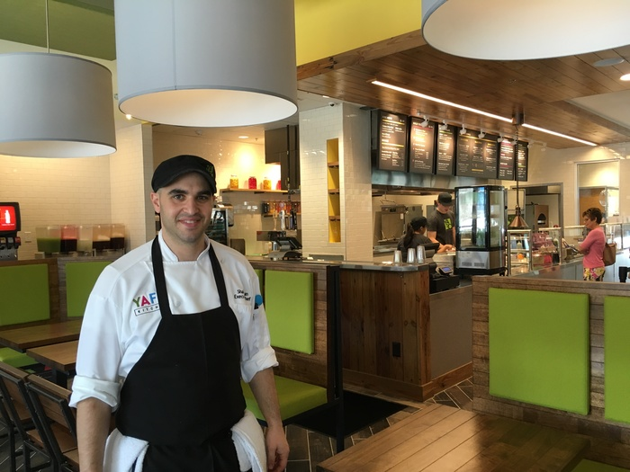 shai fargian executive chef of yafo kitchen