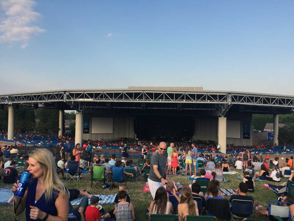 Charlotte summer concert tickets, from most expensive to least