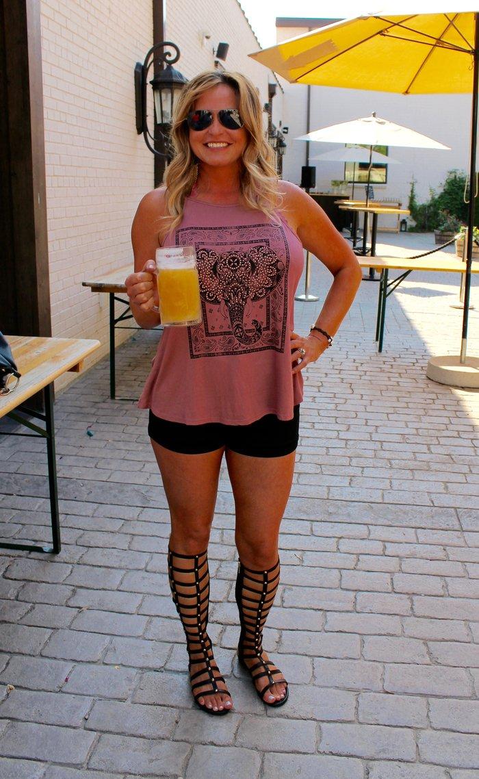 Sarah @ Olde Mecklenburg Brewery