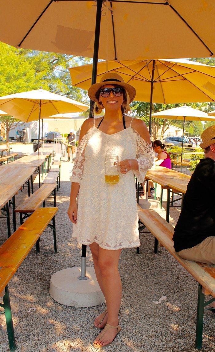 Lauren @ Olde Mecklenburg Brewery
