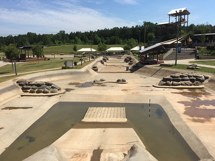 Whitewater Center Empty