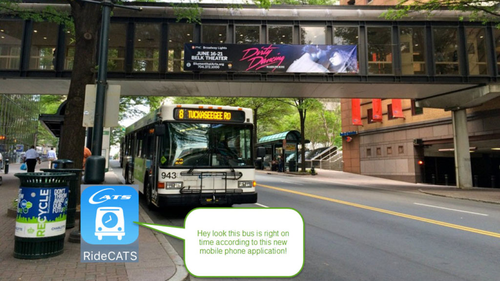 CATS has a new GPS enabled app that makes riding the bus even easier