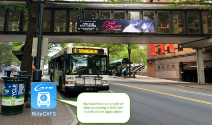 CATS has a new GPS enabled app that makes riding the...