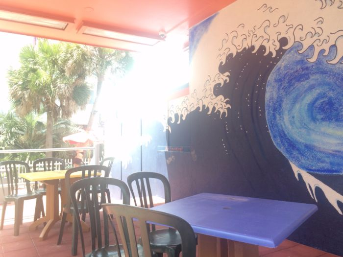 Coconut Joe's patio