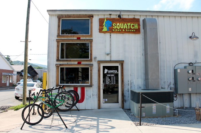 squatch bikes and brews