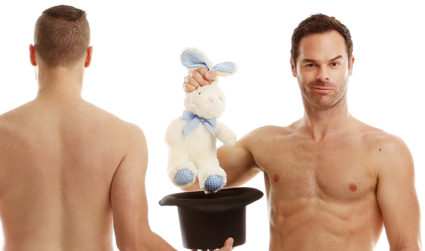 One night only, The Naked Magic Show comes to town and bares all