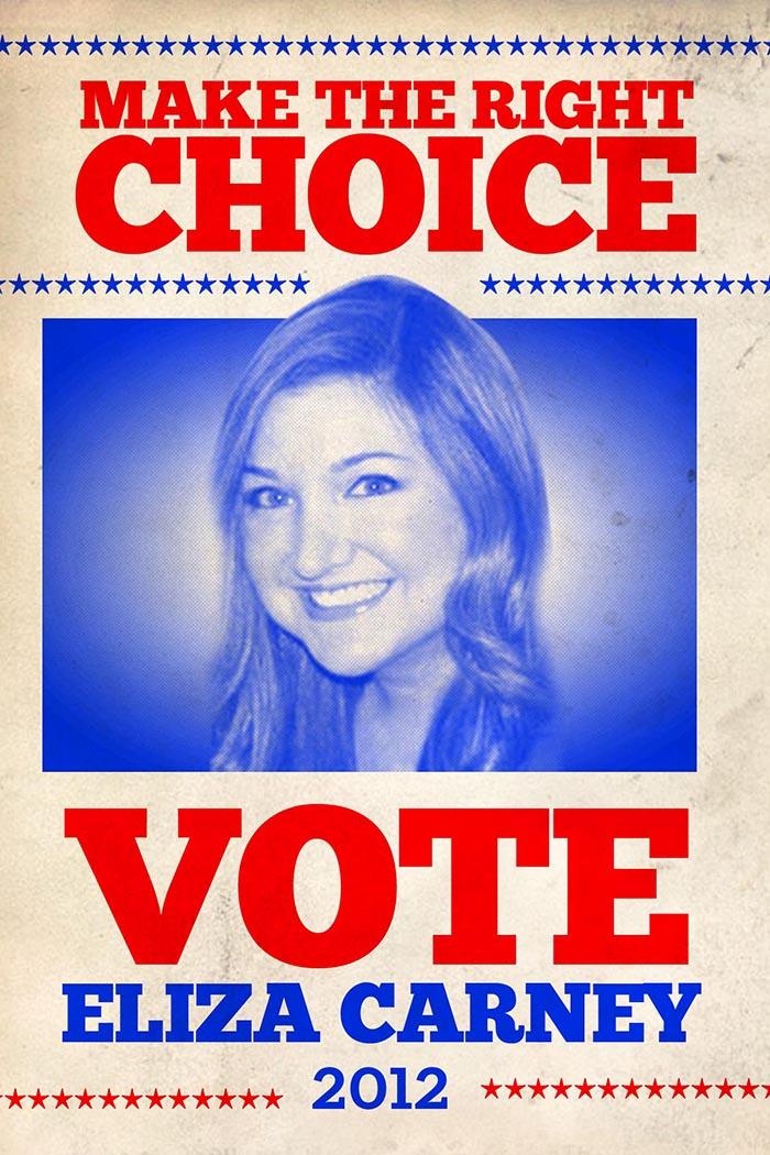 VOTE POSTER ELIZA 4x6-2