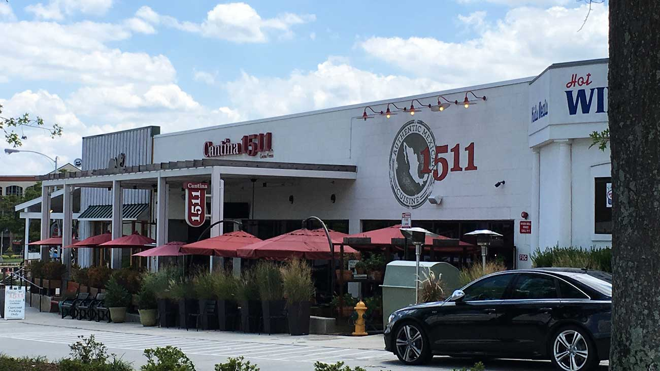 What do the new hamburgers at Cantina 1511 look like?