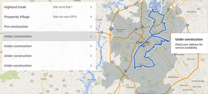 Google Fiber hasn\'t given up on Charlotte — they\'ve just ...