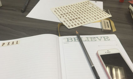 What to expect at a creative journaling and planning class in Charlotte