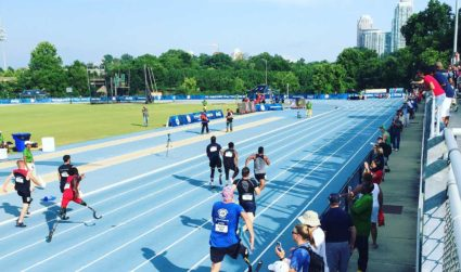 Here's what it was like volunteering at the U.S. Paralympics Trials