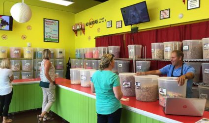How to order from the 100+ flavors at Tastebuds Popcorn