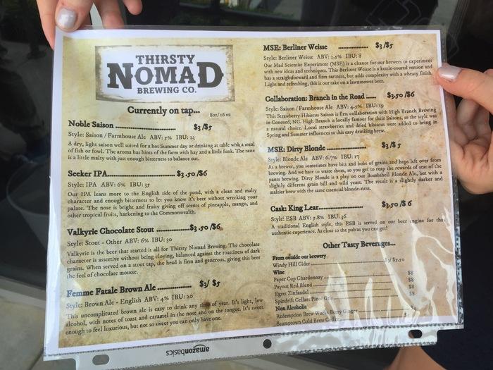 thirsty nomad menu 1