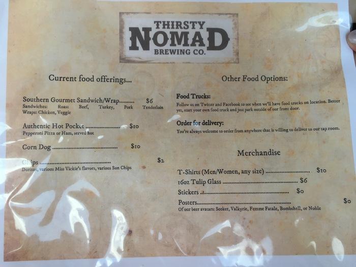 thirsty nomad menu 2