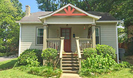 Nestled right in between Plaza Midwood and Noda