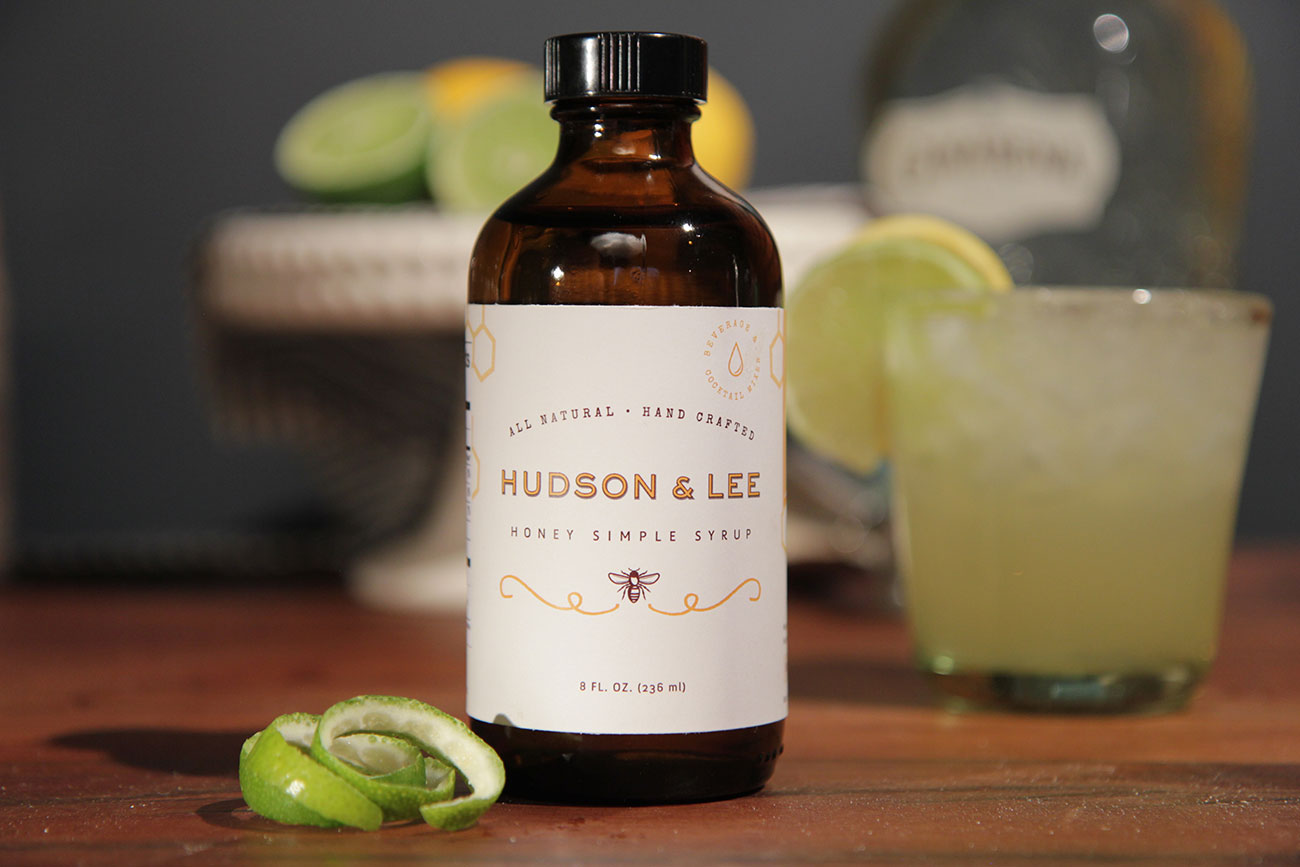Charlotte cocktails are getting sweetened up with Hudson & Lee's honey simple syrup