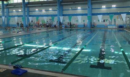 The Harris Y indoor pool reopens today