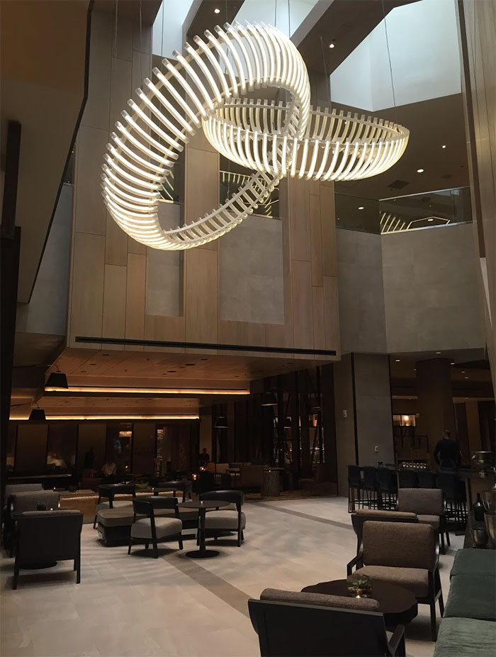 Marriott-Charlotte-City-Center-lobby