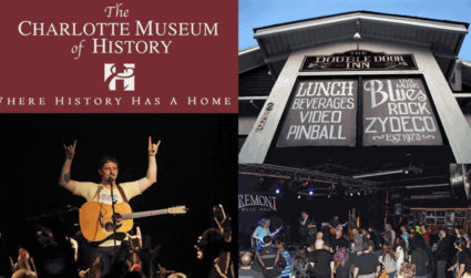 The glory days of Charlotte's disappearing music venues come alive at the Charlotte Museum of History