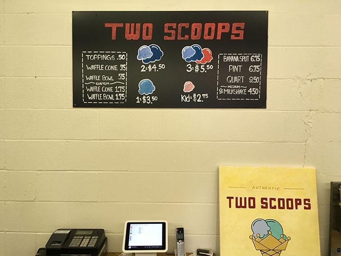 two scoops menu