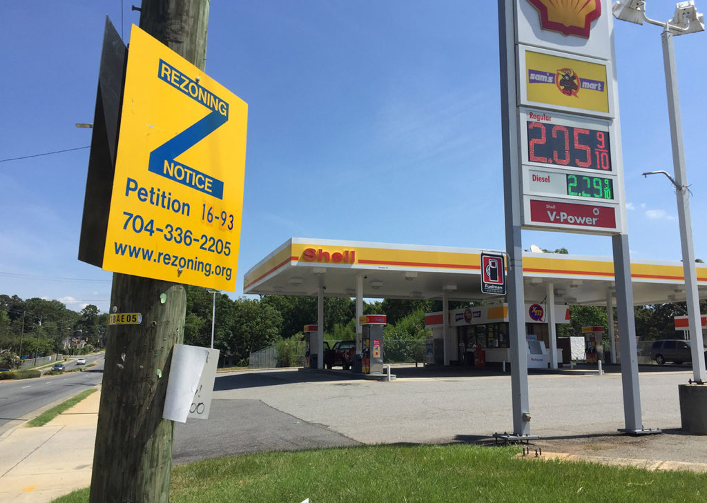 Plaza Midwood residents are trying to keep a car wash from being built in the neighborhood