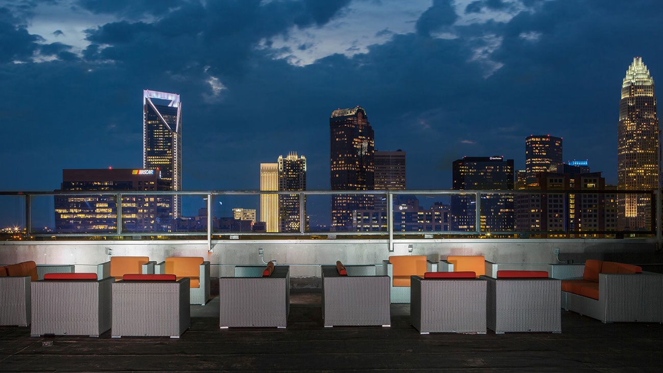 Top 11 rooftop bars in Charlotte