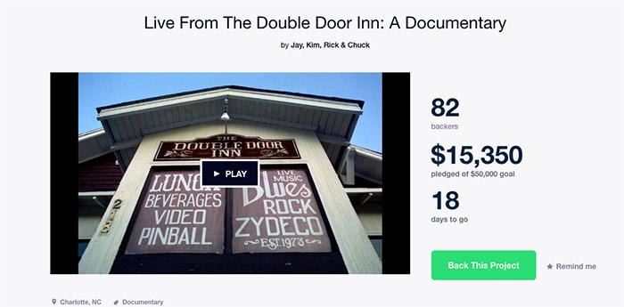 Double Door Inn Kickstarter