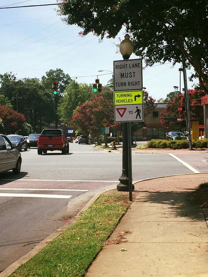 plaza-midwood-pedestrian-sign