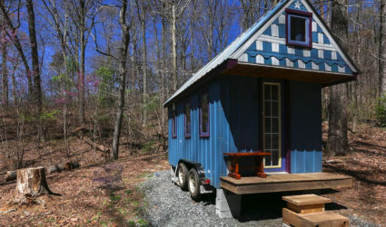 10 tiny houses you can rent near Charlotte (one's in Plaza Midwood)