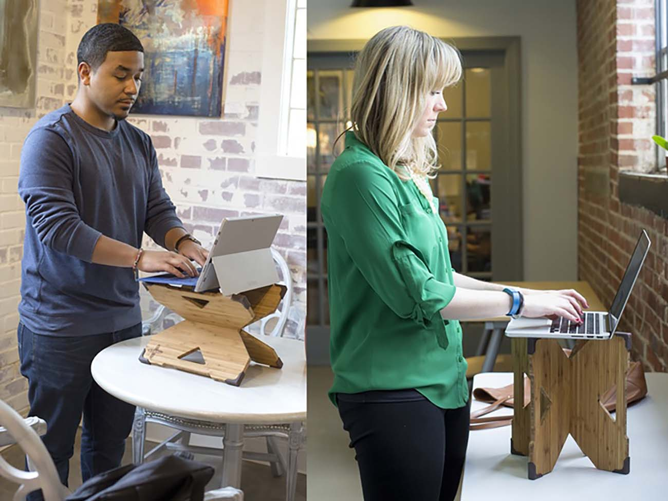 This standing laptop desk, created in Charlotte, has already exceeded 80% of its Kickstarter goal
