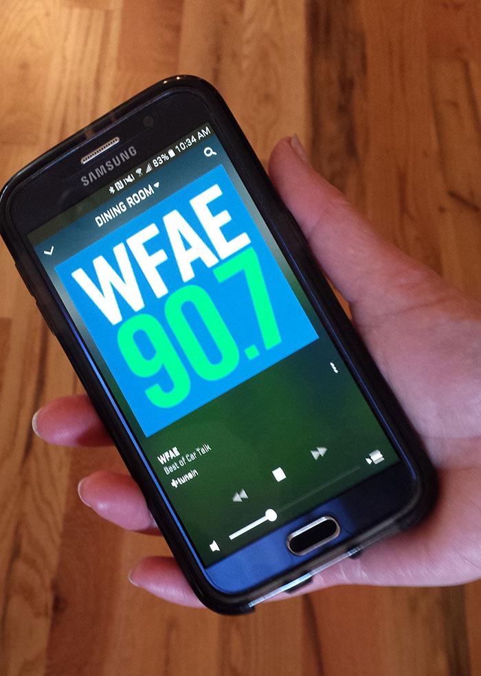 WFAE app