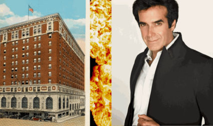 The time David Copperfield blew up a Charlotte landmark
