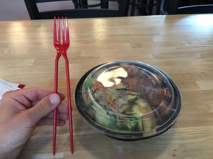 chopstick fork