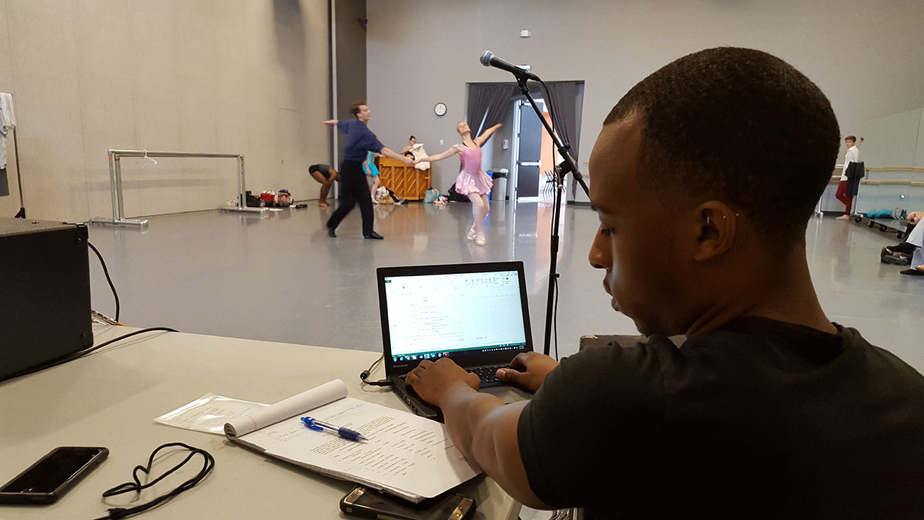 How I Work: James Ogden II, Company Stage Manager for Charlotte Ballet