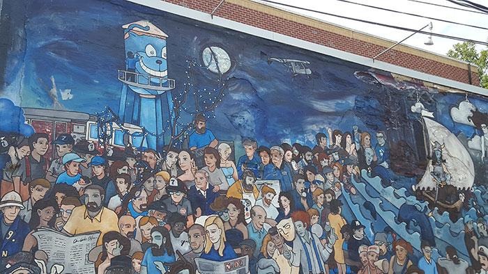 Jack Beagle mural