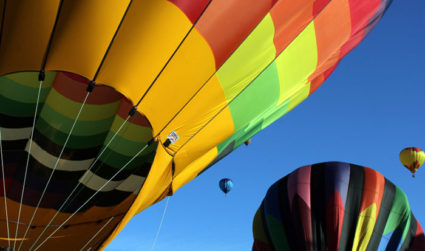 Here's where to ride a hot air balloon near Charlotte