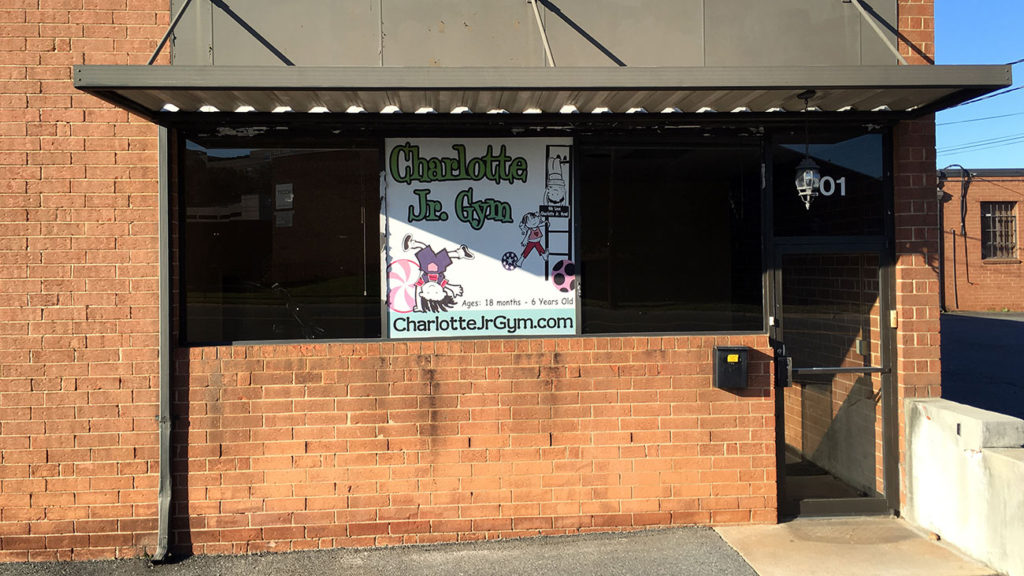 As a parent, it makes me sad to tell you – Charlotte Jr. Gym in South End has closed