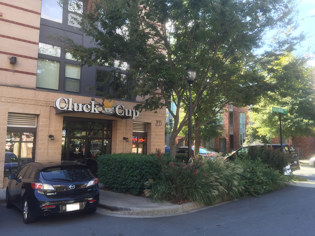 Cluck 'n Cup's South End location is closing next week