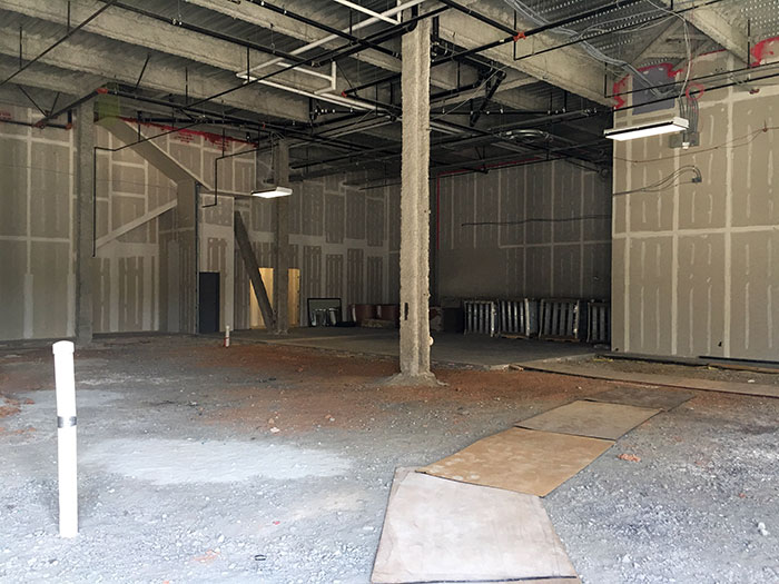 construction-of-oak-steakhouse-charlotte-southpark