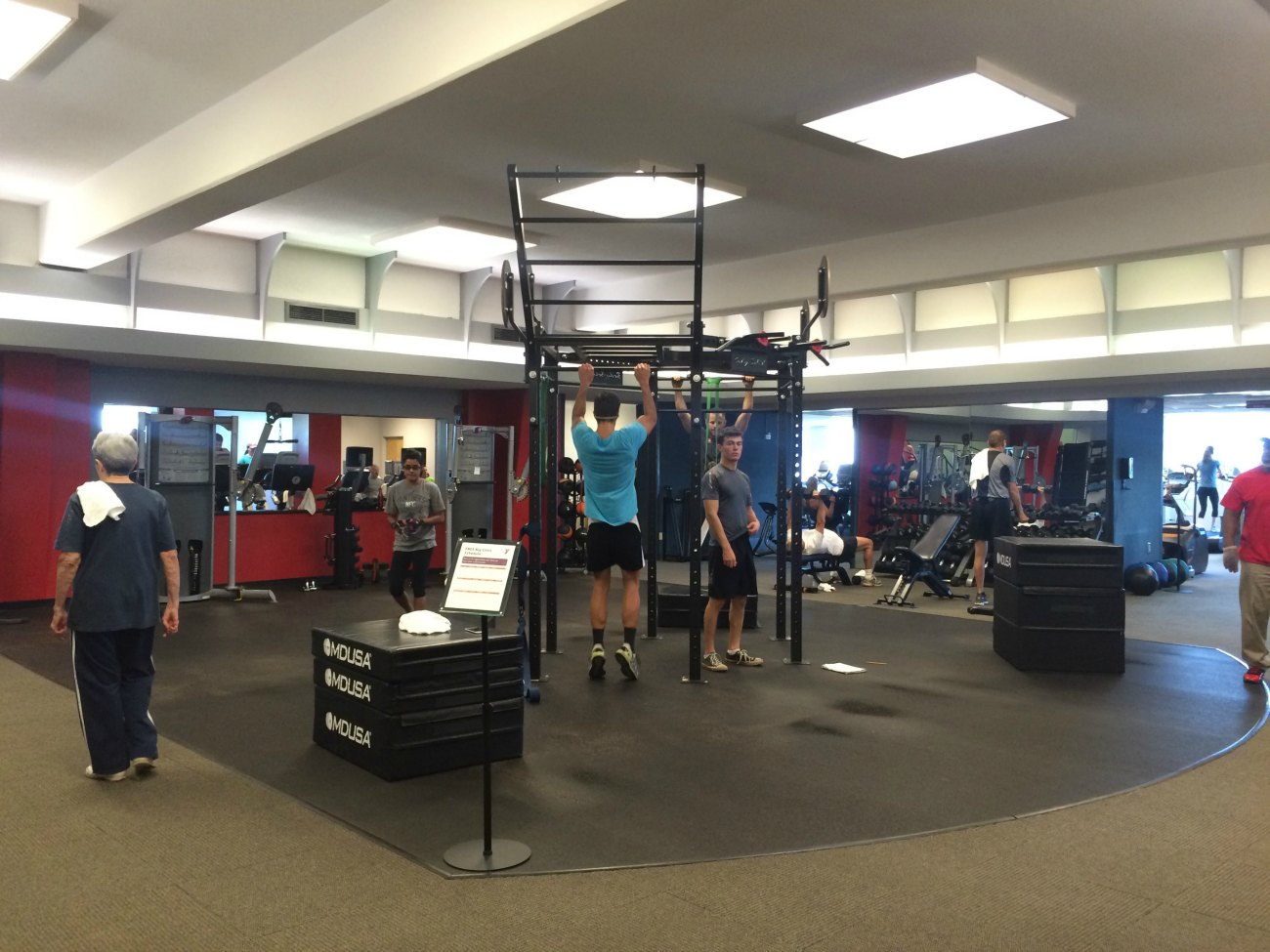 The Dowd YMCA added a new rig to the third floor and more changes are coming
