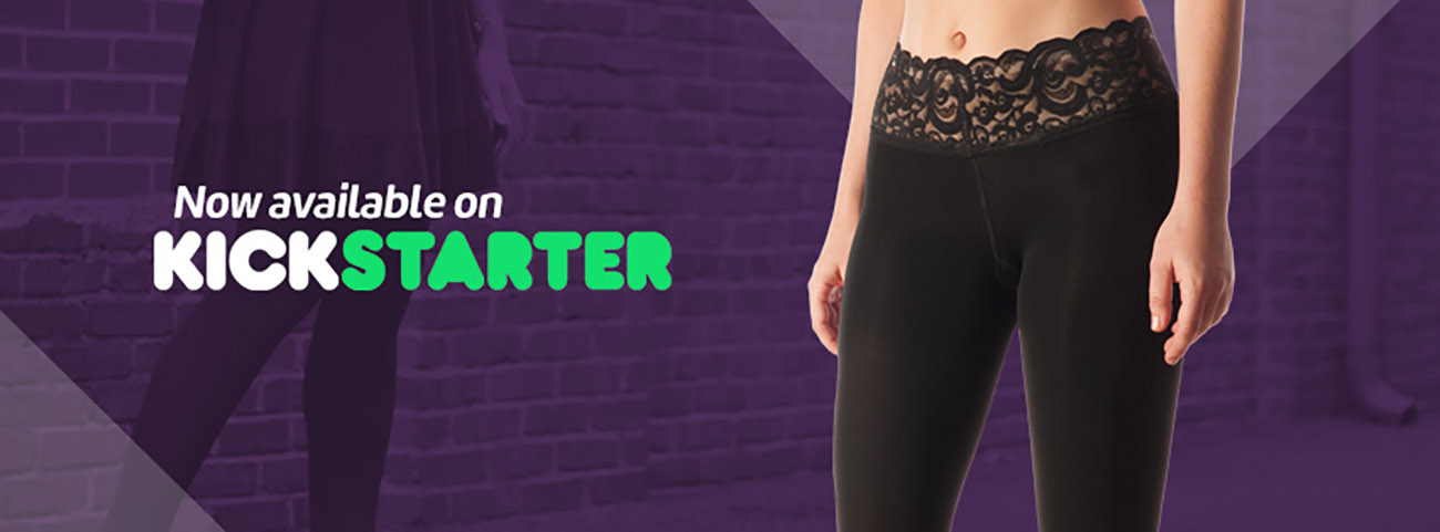 This Charlotte-based tights company has launched a $15,000 Kickstarter campaign