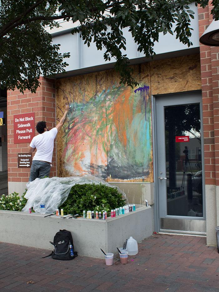 hyatt-house-mural-in-process