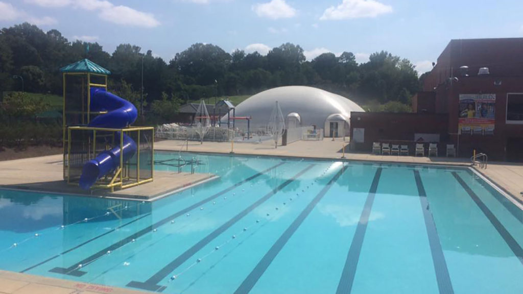 Levine JCC begins construction of new, improved family pool