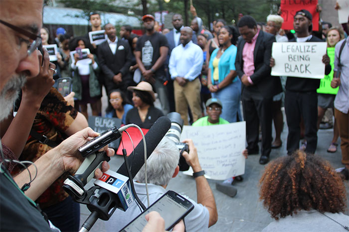 media-at-charlotte-protest