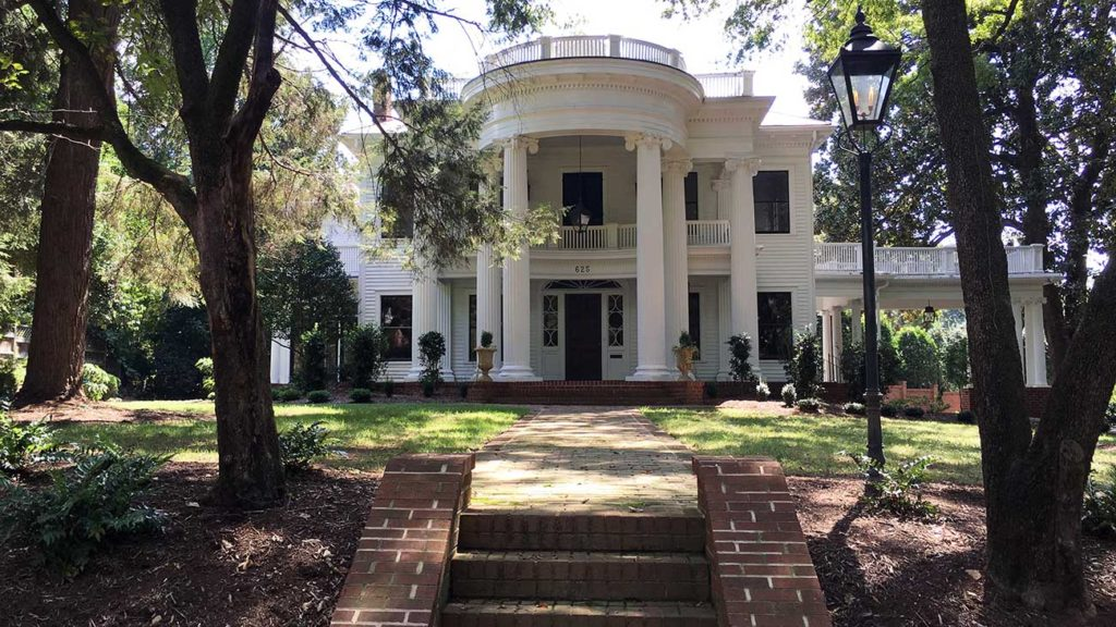 Renovated 1914 Neoclassical home in Myers Park wants $2,495,000