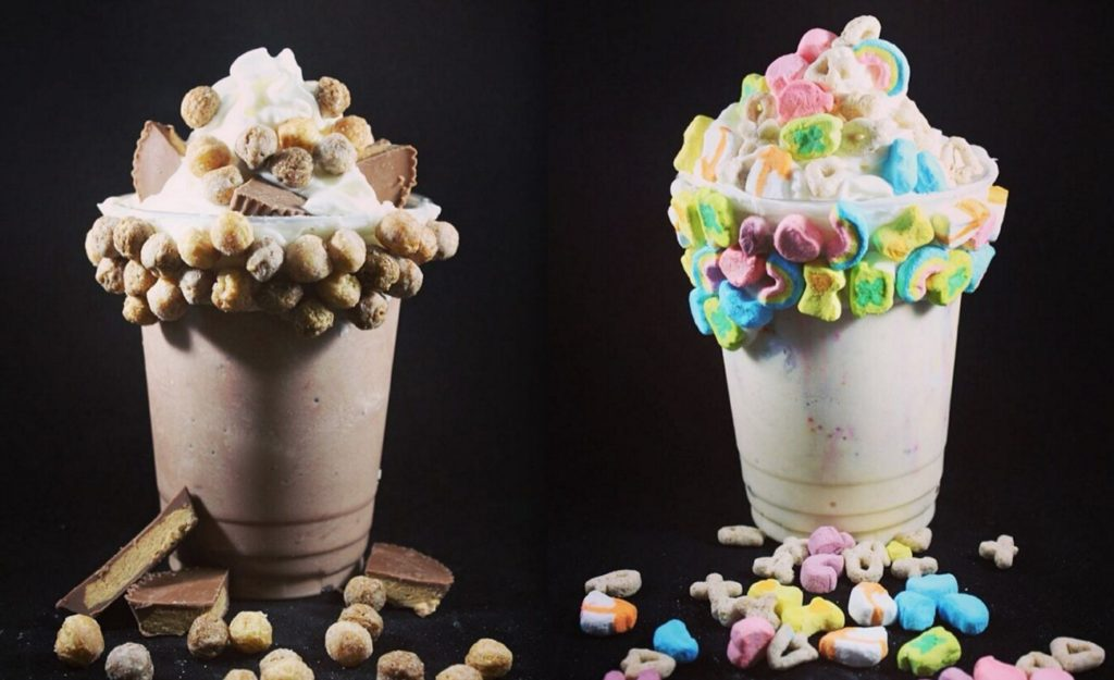 Buckle up, Charlotte. The cereal milkshakes of your childhood dreams are here.
